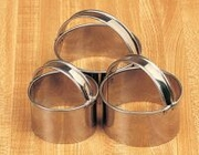 Round Cookie Cutter Set with Handles, Set of 3