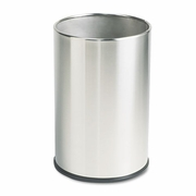 Rubbermaid  Commercial Fire-Safe Wastebasket Stainless Steel 5 gal.