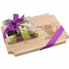 Rubberwood  Cutting Board with Water Pail Design & Napkin Gift Set