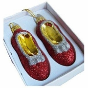 Ruby Slippers Christmas Ornament