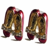 Ruby Slippers Stud Earrings