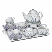 Sadek Child Tea Set  Lavender  18pc