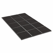 Crown Safewalk  Heavy-Duty Anti-Fatigue General Purpose Drainage Mat 3' x 5'