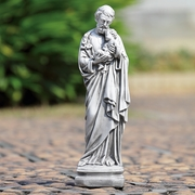Saint Joseph and Holy Infant Garden Sculpture