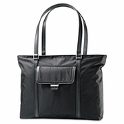 Samsonite Ultima 2 Ladies Laptop Bag, 12.75 x 4.5 x 18.5, Nylon Twill, Black