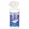SCRUBS®White Board Cleaner Wipes, Cloth, 8 x 6, White, 120/Canister 6/case