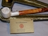 Servi Meerschaum Straight Stem Churchwarden Tobacco Pipe Smooth Billiard