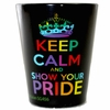 Shot Glasses  Keep Calm and Show Your Pride  3/pc