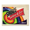 Shout® Wipe & Go Instant Stain Remover, 4.7 x 5.9, 80 Packets/Carton FREE SHIPPING