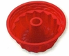 "Silicone Bakeware Deep Fluted Pan  9-1/2"" dia."