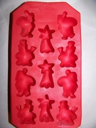 Ice Cube Tray  Christmas Shapes