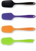 Silicone Spoon Shaped Spatula  11""