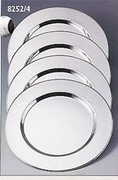 Silver Plated Charger Plates  (4/set)