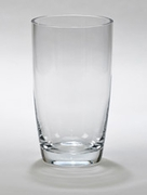 "Simon Collection Lead-Free Optic Crystal Vase 7.75"" H"