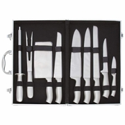 Slitzer™ 10pc Stainless Steel Cutlery Set in Case