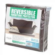 Sofa Protector  Reversible  Chocolate/Beige