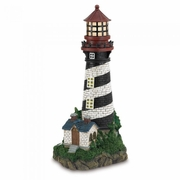 Solar Powered Lighthouse Statue