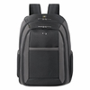 Solo CheckFast Laptop Backpack, Ballistic Poly, 13 3/4 x 6 1/2 x 17 3/4, Black