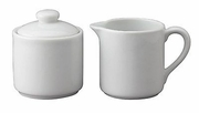 Sugar and Creamer Set  6oz. Porcelain
