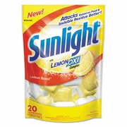 Sunlight  Auto Dish Powder Pouches  1.5oz  20  pouches/bag