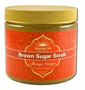 Sunshine Spa Brown Sugar Scrub Mango Ginger  16oz