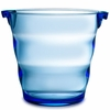 Swirl Acrylic Ice Bucket  Blue