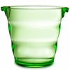 Swirl Acrylic Ice Bucket  Green