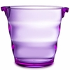 Swirl Acrylic Ice Bucket  Purple