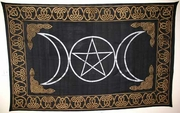 "Tapestry Triple Goddess   72"" x 108"""