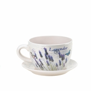 Teacup Planter  Lavender Fields