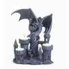Tealight  Candleholder Dragon on Castle
