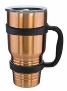 Travel Mug Mamouth 30 fl oz. With Handle Copper Finish Stainless Steel