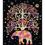 Tree of Life Polyester Blanket 79 in. x 91 in.