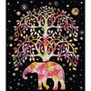 "Tree of Life Polyester Blanket 79"" x 91"""