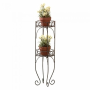Two-Tier Metal Plant Stand     FREE SHIPPING