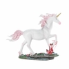 Unicorn with Crystals Figurine