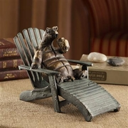Vacationing Turtle Cast Iron Figurine