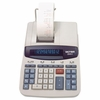 VICTOR 2640-2 Two-Color Printing Calculator, 12-Digit Fluorescent, Black/Red