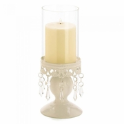 Victorian Hurricane Lantern Candle Holder
