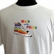 Walk With Pride Tee Shirt Plus Size