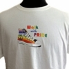 Walk With Pride Tee Shirt Rainbow Sneaker T-Shirt