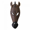 Wall Plaque Zebra Mask