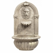 Wall Water Fountain Lion Head   FREE SHIPPING