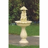 Water Fountain Garden  Couple in Spring Shower    FREE SHIPPING