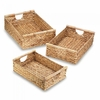 Water Hyacinth Nesting Basket Set  3pc.