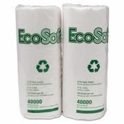 Wausau Paper® EcoSoft™ Two-Ply  Household Roll Towels 30/case