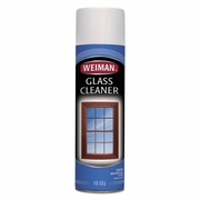 Weiman Foaming Glass Cleaner, 19 oz Aerosol Can, 6/Carton