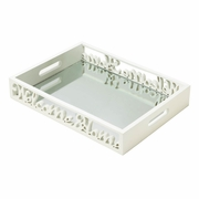 Welcome Home Mirrored Tray