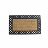 Welcome Mat Basket Weave Border