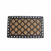 Welcome Mat Diamond Pattern with Rubber Border